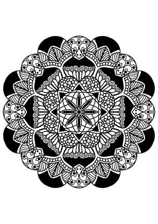 Mandala Artwork - CloverArtLab