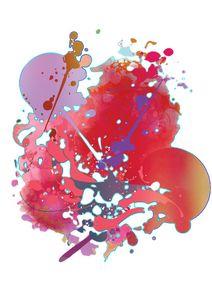 Abstract Design - Pink Burst