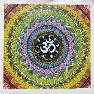 Om symbol Acrylic Canvas Painting