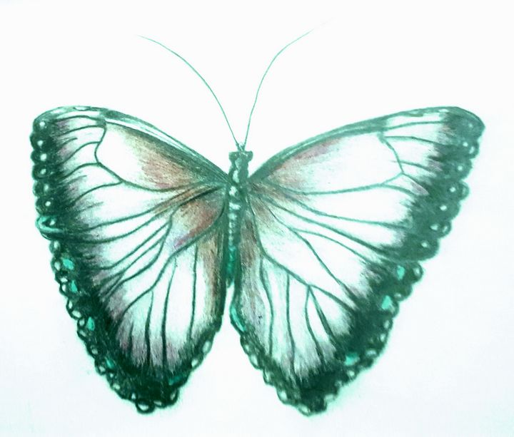 Beautiful Butterfly - Limitless Creativity by Ruthie