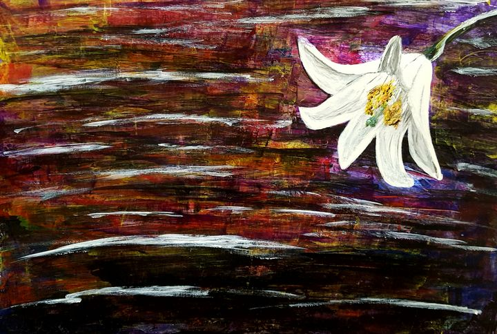 Beautiful Lily - Limitless Creativity by Ruthie
