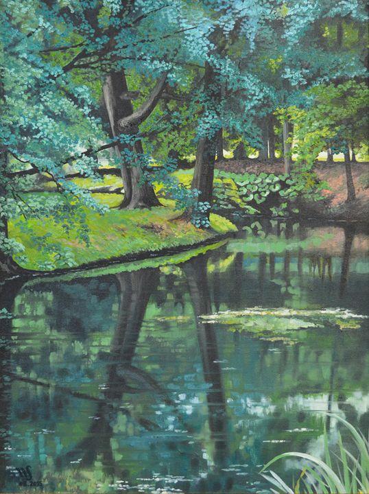 Polish Landscape - WANDA SIEROTOWICZ ART