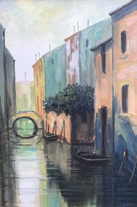 The canals of Venice