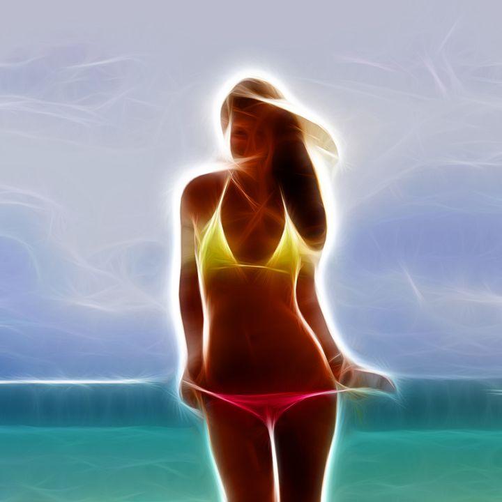 Bikini Girl - Croag