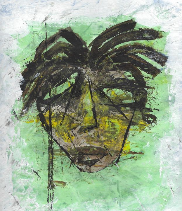 Self Portrait No. 1 - Yacky Art
