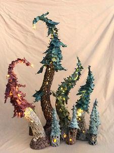 Illuminated Trees - Canale Art