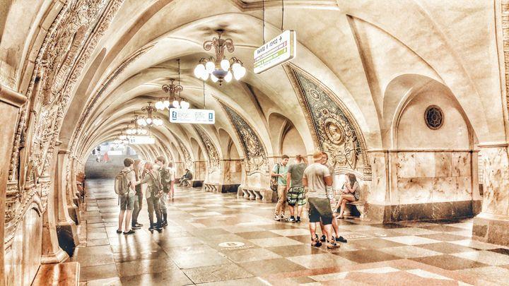 """Kurskaya"" station, subway in Moscow - AG Photo Studio"