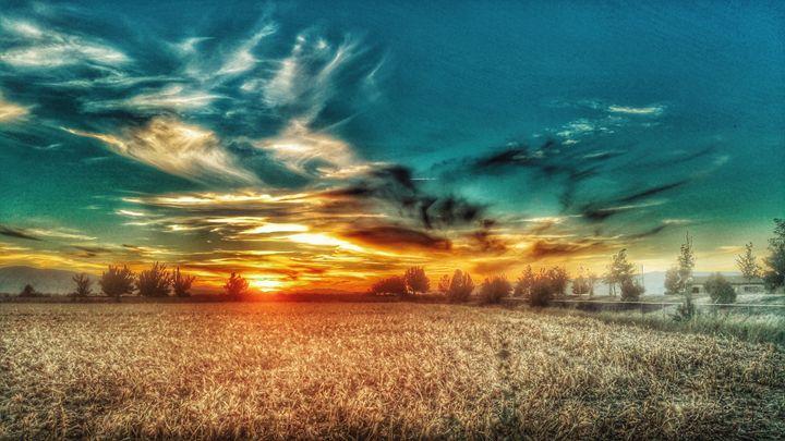 Painted sky - AG Photo Studio