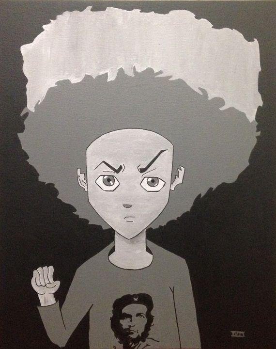 Huey from the boondocks - IV Art