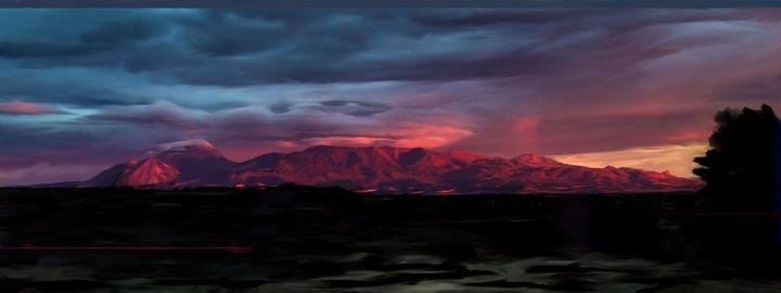 Ute Mountain, October Rain - Jonathan P. Thompson