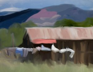 Midsummer's Moment #2 (Abstract)