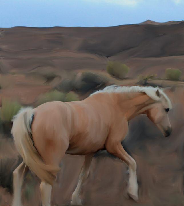 Aneth Horse - Jonathan P. Thompson
