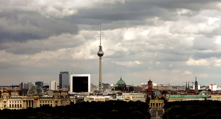 Berlin Skyline - Jonathan P. Thompson