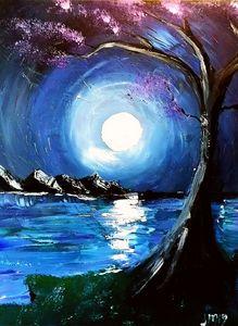Moonlight & violet