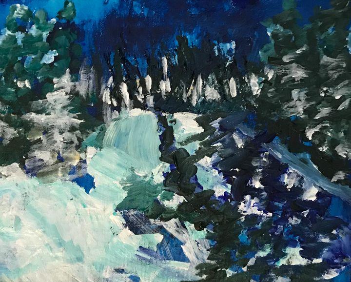 Northern Forest Passage - Judydcreates