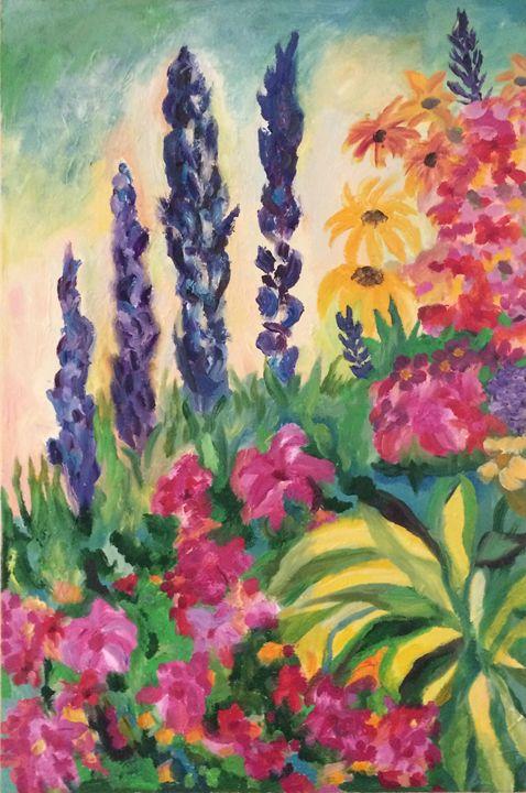 Perennials - Judydcreates