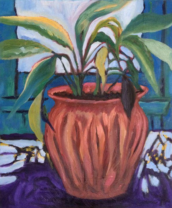 Pretentious Plant - Judydcreates