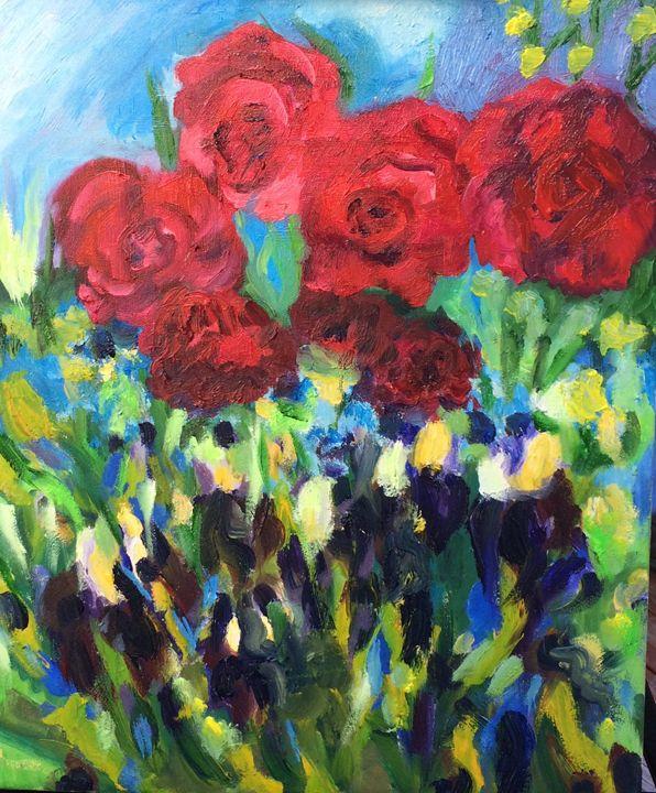 Harmony of Roses - Judydcreates