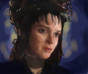 Lydia Deetz - Beetlejuice Fanart