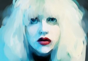 Courtney Love - Hole - Digital Art