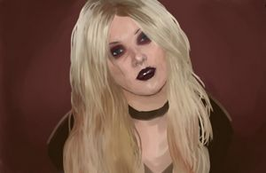 Taylor Momsen Digital Portrait