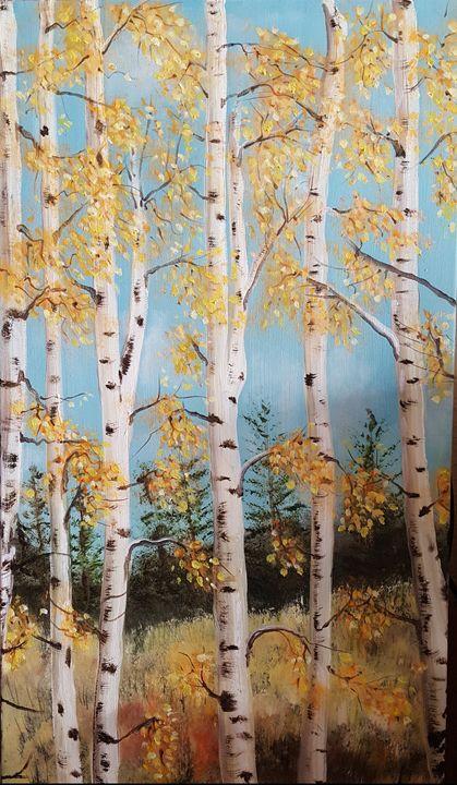 Tahoe Aspens - Cheryl Lawson, Artist