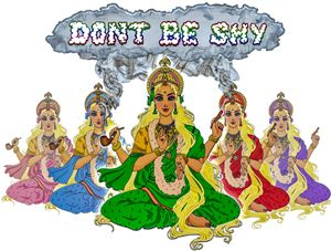 Dont Be Shy logo enhanced