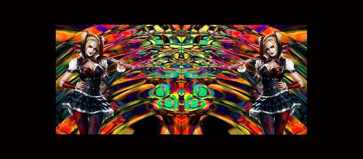 Harley Quinn (Psychedelic Effect) - Jonathan THEBAULT