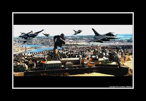 King-Kong VS Rafales à Saint-Malo