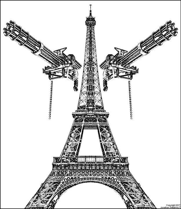 L'Empire du Futurisme (N&B) - Jonathan THEBAULT