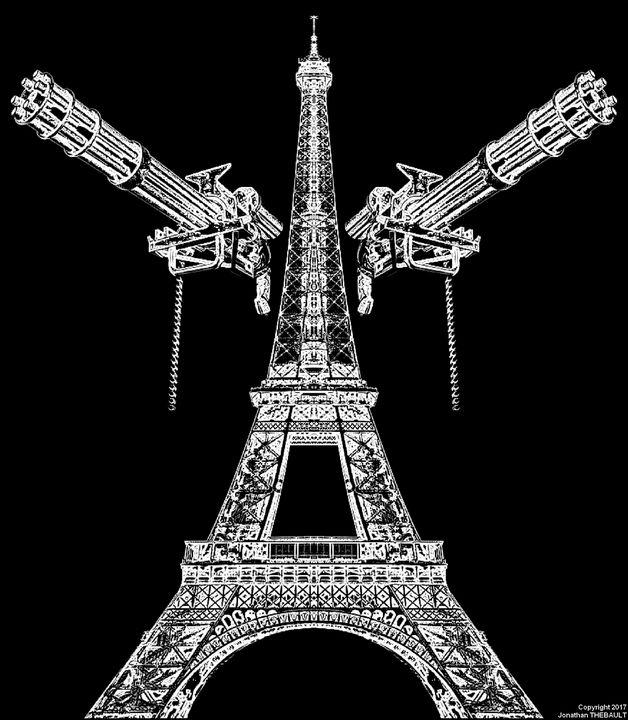 L'Empire du Futurisme (B&W) - Jonathan THEBAULT
