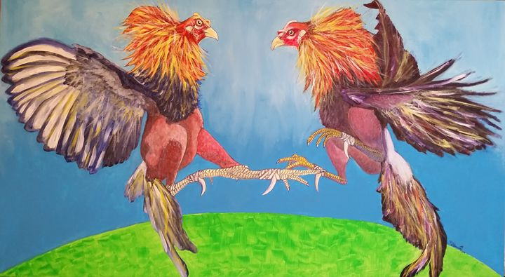 As real cockfighting - villasArts
