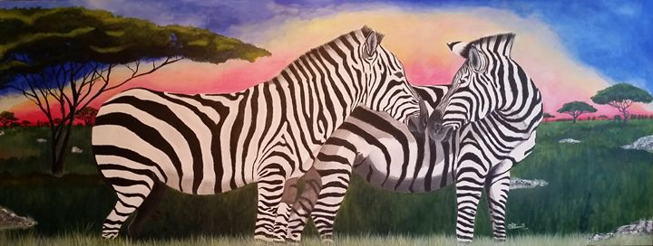 Love of Zebras - villasArts