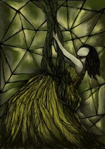 The Canary in Her Cage