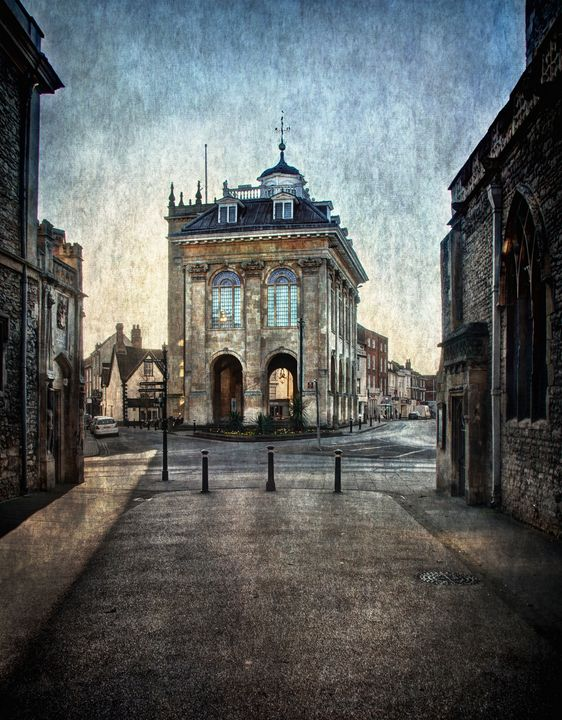 The Town Hall At Abingdon - Ian W Lewis
