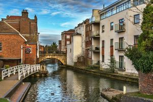 The Kennet And Avon In Newbury