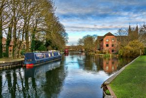 The Kennet At West Mills Newbury