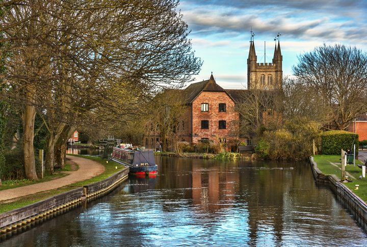 The Kennet and Avon at Newbury - Ian W Lewis