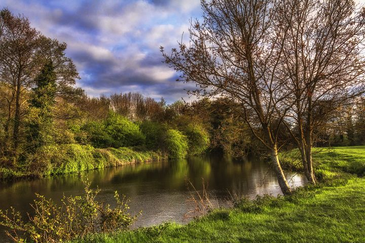 The River Kennet At Burghfield - Ian W Lewis