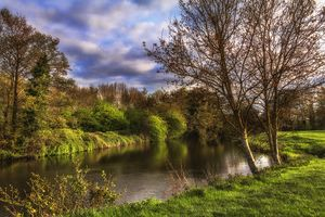 The River Kennet At Burghfield