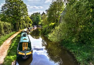 Boats On The Oxford Canal