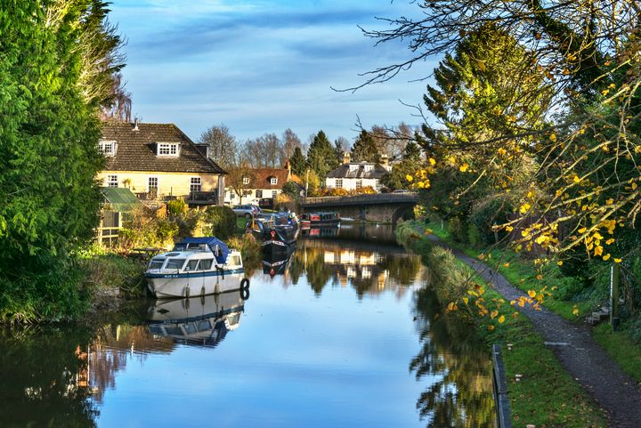 The Towpath Into Hungerford - Ian W Lewis