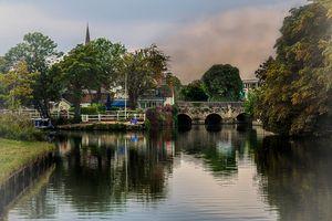 Above The Bridge In Abingdon
