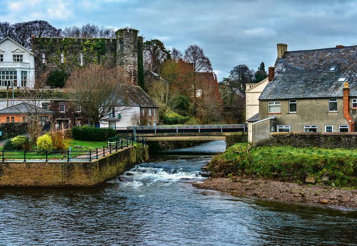 The Castle At Brecon - Ian W Lewis