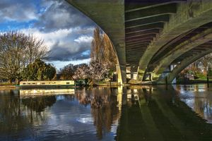 Beneath Reading Bridge
