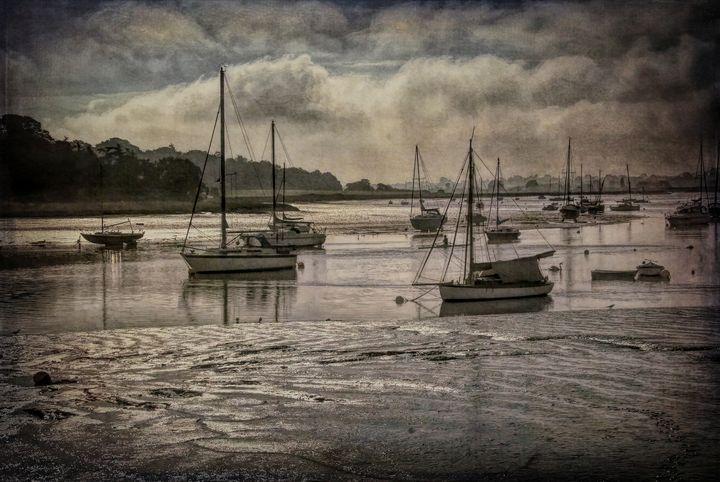The River Deben at Woodbridge - Ian W Lewis