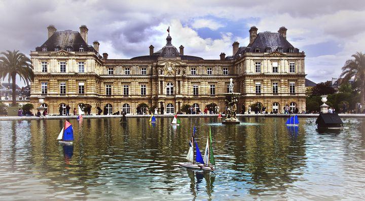 Palais du Luxembourg, Paris - Ian W Lewis
