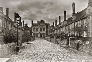 Vicars Close In The City Of Wells
