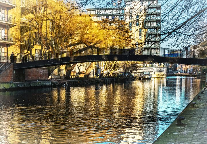 The River Kennet In Reading - Ian W Lewis