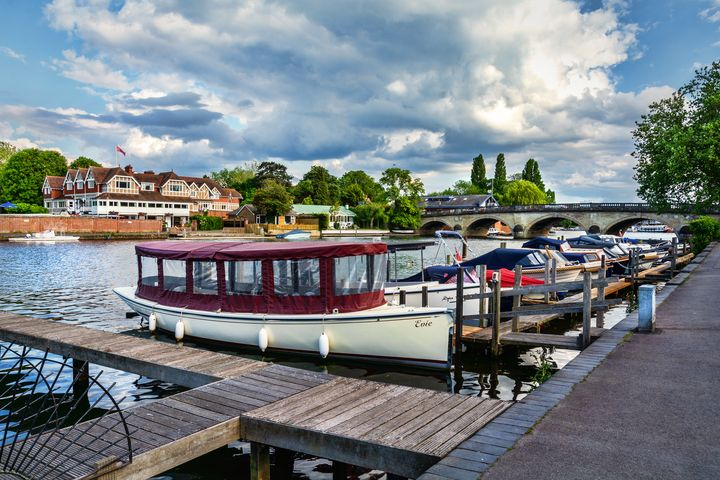 Moorings at Henley on Thames - Ian W Lewis